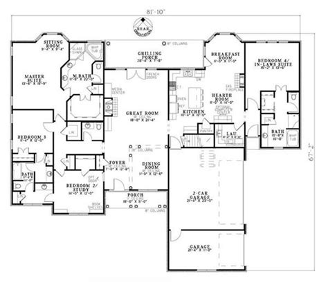 House Plans With In Suites Home Plans With Inlaw Suites Smalltowndjs