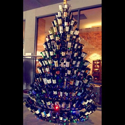 this guy made a beer christmas tree photos