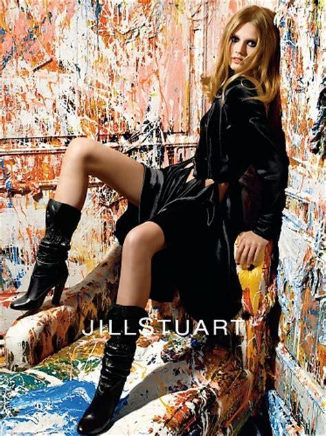 Has Jil Stuart Dumped Lindsay Lohan As The Their Brand by Fab Ad Stuart Fall 2008 Popsugar Fashion