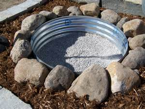 up your fall how to build a pit in your yard - How To Build A Pit With Rocks