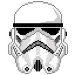 storm trooper pixel helmet minecraft project