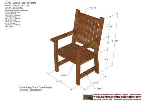 home garden plans: GT100   Garden Teak Tables