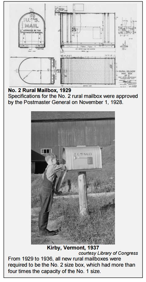 Pdf History Of The Usps large rural mailbox from the usps history of mailbox