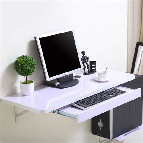 desktop computer desk best 25 floating computer desk ideas on pinterest