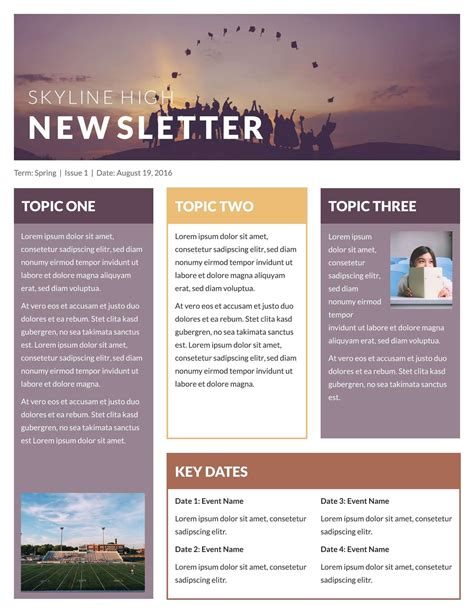 Publisher Email Newsletter Templates Resume Papers Microsoft Publisher Email Templates