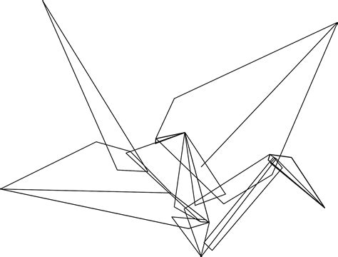 Origami Crane Template - do you think this will become a franchise what other