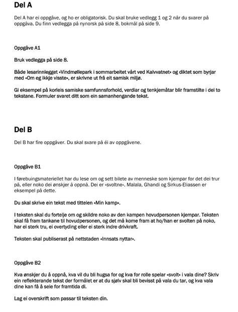 Hår Kort 2016 by L 248 St Eksamen I Norsk 10 Trinn 2015 Side 27 Skole Og