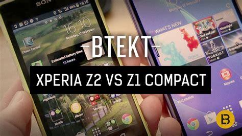 Sony Xperia Z2 Compact sony xperia z2 vs z1 compact mwc 2014