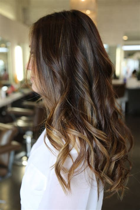 ombre hair for brunettes beauty trend sombr 233 a k a subtle ombr 233 glitter inc