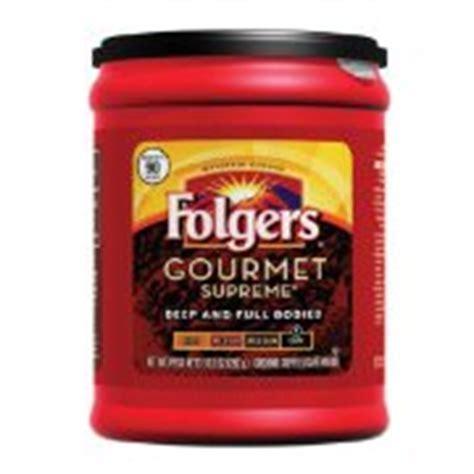 Folgers Coffee, Ground, Gourmet Supreme, Dark: Calories