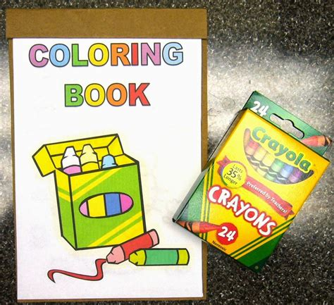 coloring book and crayons simply shoeboxes diy easy coloring books drawing pads