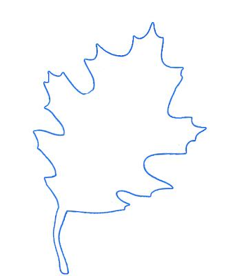 leaf pattern to trace gonna stuff a chicken september 2013