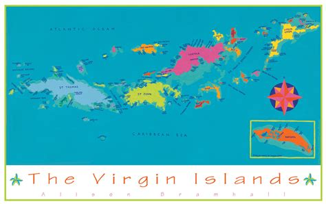 map of the us islands the islands us and