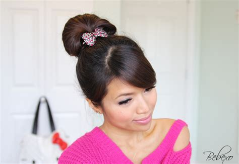 everyday hairstyles bebexo perfect fan bun updo 183 just bebexo a lifestyle beauty blog