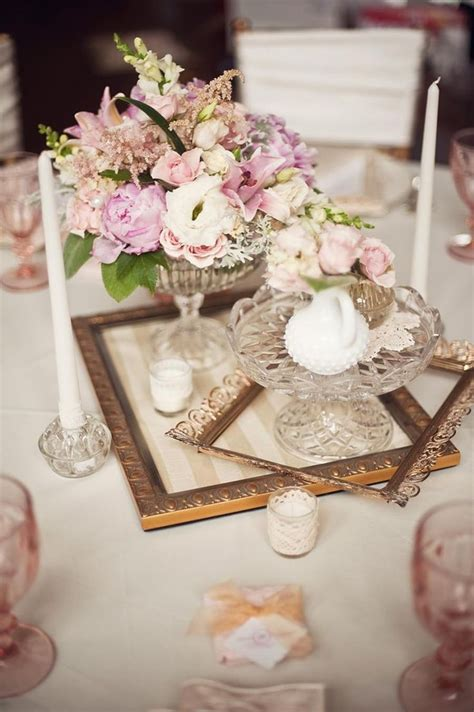 Center Wedding Flowers by 20 Inspiring Vintage Wedding Centerpieces Ideas