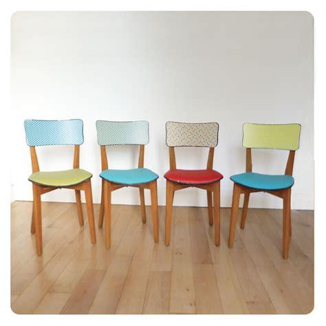 chaises couleur