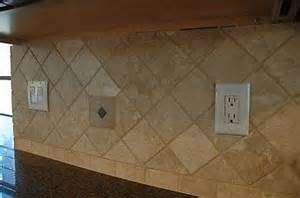 how to install a travertine tile backsplash with pictures