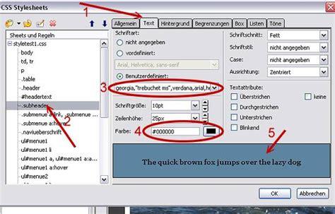 tutorial stylus css tutorial bearbeiten der css angaben