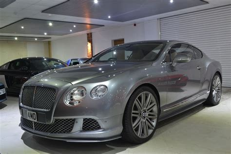 grey bentley used grey bentley continental for sale worcestershire