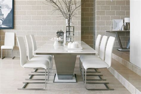 Marble Dining Room Table And Chairs dining room design tips to create an quot ultra chic quot style