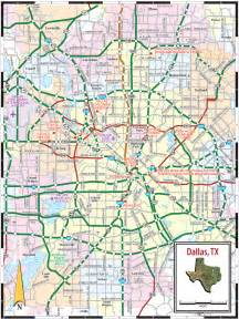 map for dallas dallas tx map