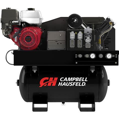 cbell hausfeld 2 in 1 air compressor generator with honda engine model gr2200 northern