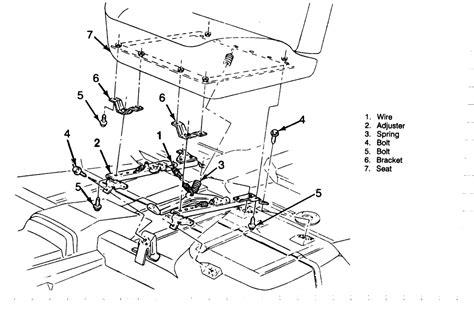 autozone seat riser repair guides interior front seats autozone
