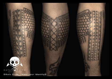 hand tapped tattoo rolly traditional kalinga tapped quot ethnic