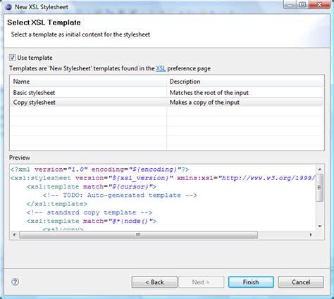format file xsl web tools platform xsl 0 5 release news