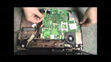 disassemble and fix toshiba a505 overheat