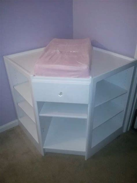 Front Facing Changing Table Custom Made Changing Table Front Facing Myers Custom Cabinets Jef