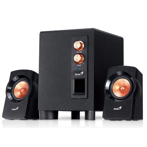 Genius Sw 2 1 360 Speaker zvu芻nici genius sw 2 1 360 2 1 speaker system 2541001