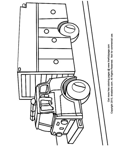 free school fire drill coloring pages