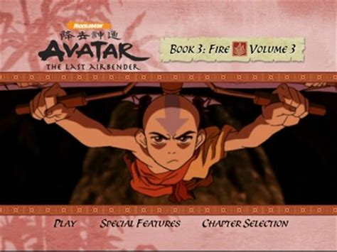 The Last Book 4 avatar the last airbender book 3 vol 3 dvd