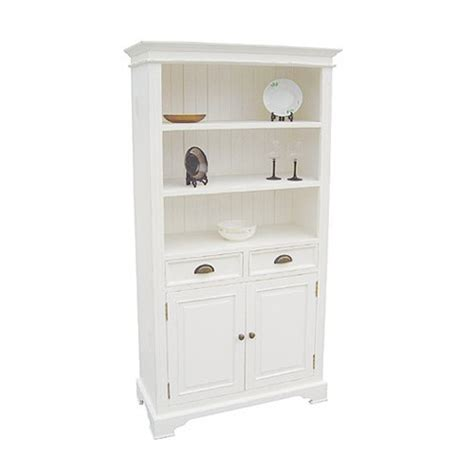 book cases white 2 door 2 drawer bookcase 916 411