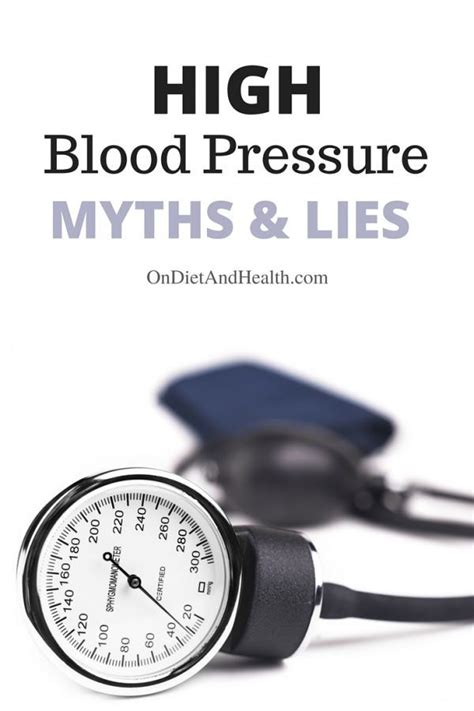 Detox Symptoms High Blood Pressure by Do You About High Blood Pressure Myths And Lies Not
