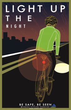 new safety posters available light up the night amp don
