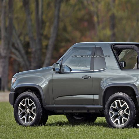 Jeep Competitors Report Gmc Considering A Jeep Wrangler Competitor