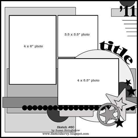 scrapbook layout templates 12x12 pin by gk scrapper on scrapbook sketches