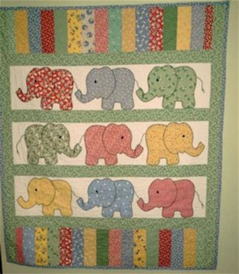 Baby Elephant Quilt by Elephant Parade