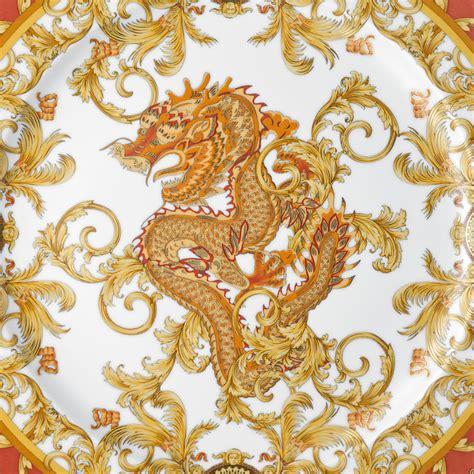 gold versace pattern 毒品 versace x rosenthal 20th anniversary spitgan magazine