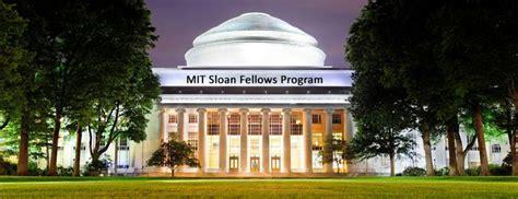 Mit Sloan Fellows Mba by Mit Sloan Fellows Program In Detail