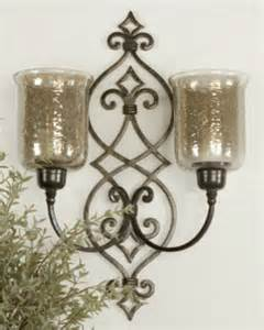 diy candle wall sconces