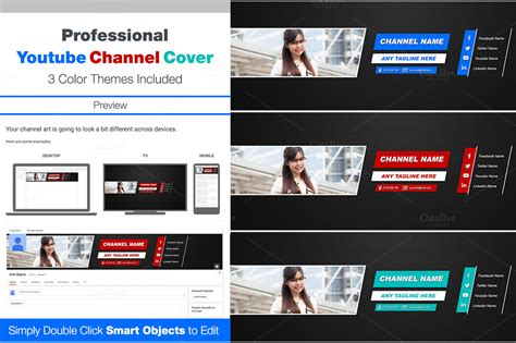 website templates for youtube youtube cover website templates on creative market