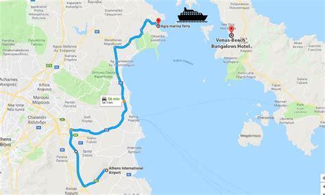 ferry boat agia marina nea styra welcome to venus beach bungalows hotel in evia styra