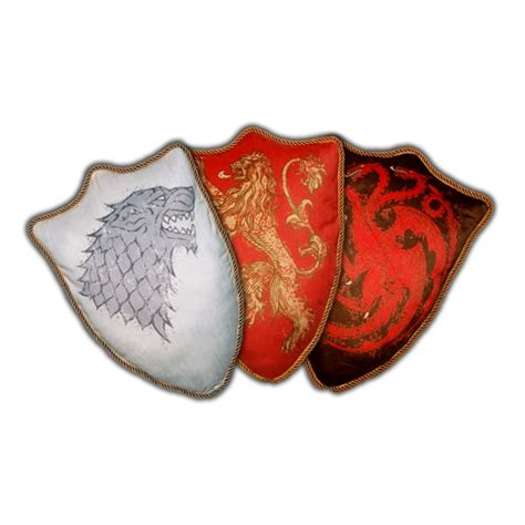 Of Thrones Pillow by Of Thrones House Sigil Throw Pillow Wave 1 Set Of
