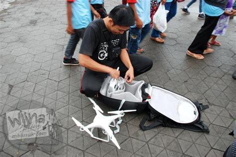 Drone Yang Bagus maw mblusuk sabtu pagi sepeda santai edisi ramah anak