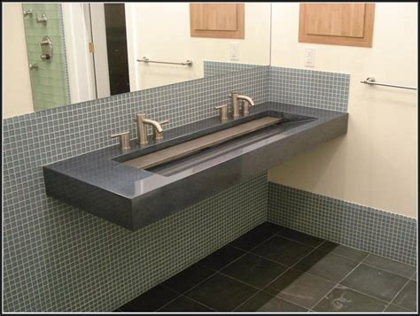 Integrated Sinks For Laminate Countertops by Integrated Bathroom Sink And Countertop Sinks And