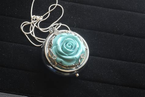 turquoise box pendant necklace with necklace