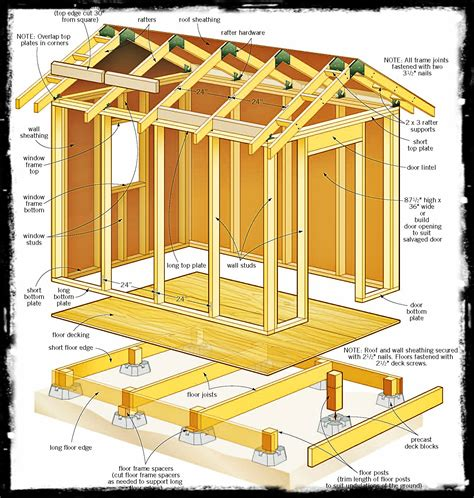 free building design free storage shed building plans shed blueprints